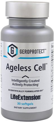 Geroprotect, Ageless Cell, 30 Softgels by Life Extension, 補品,健康,女性,皮膚 HK 香港