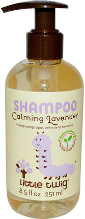 Shampoo, Calming Lavender, 8.5 fl oz (251 ml) by Little Twig, 兒童健康,兒童洗澡,洗髮水,兒童洗髮水 HK 香港