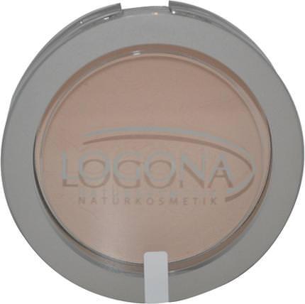 Logona Naturkosmetik, Face Powder, Light Beige 01, 0.352 oz (10 g) 沐浴,美容,化妝,粉餅