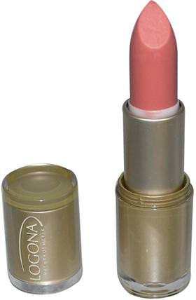 Logona Naturkosmetik, Lipstick, Moonlight Rose 08, 0.141 oz (4.4 g) 沐浴,美容,唇部護理,唇膏,口紅,光澤,襯墊