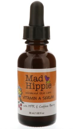 Vitamin A Serum, 1.02 fl oz (30 ml) by Mad Hippie Skin Care Products, 健康,皮膚,維生素c,皮膚血清 HK 香港