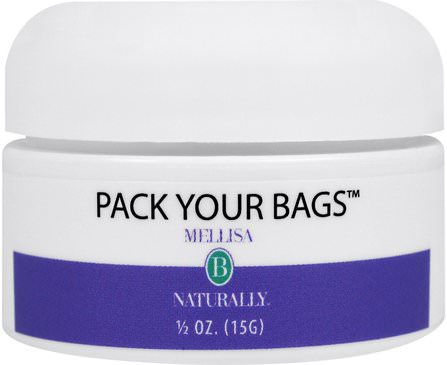 Pack Your Bags, 1/2 oz (15 g) by Mellisa B. Naturally, 美容,眼霜 HK 香港