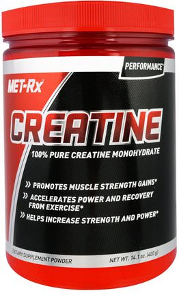 Creatine Mononhydrate, Unflavored, 14.1 oz (400 g) by MET-Rx, 運動,肌酸粉 HK 香港
