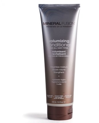 Minerals on a Mission, Volumizing Conditioner, 8.5 fl oz (250 ml) by Mineral Fusion, 洗澡,美容,摩洛哥堅果,頭髮,頭皮,洗髮水,護髮素 HK 香港