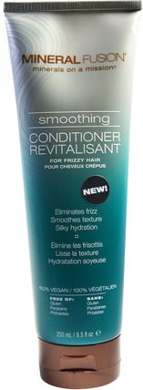 Smoothing Conditioner, For Frizzy Hair, 8.5 fl oz (250 ml) by Mineral Fusion, 洗澡,美容,頭髮,頭皮,洗髮水,護髮素,護髮素 HK 香港