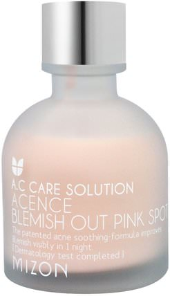 Acence Blemish Pout Pink Spot, 1.01 oz (30 ml) by Mizon, 洗澡,美容,健康,痤瘡 HK 香港