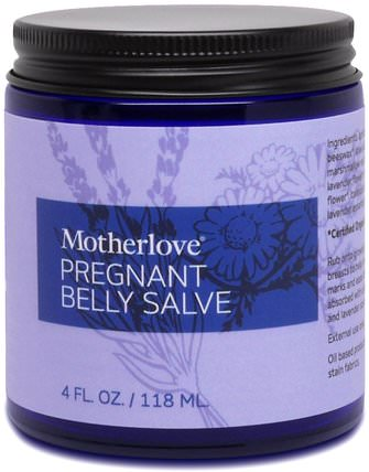 Pregnant Belly Salve, 4 oz (118 ml) by Motherlove, 洗澡,美容,身體護理,健康,皮膚 HK 香港