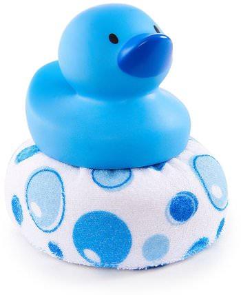 Munchkin, Duck Duck Clean, 6+ Months, 1 Duck Sponge 兒童健康,嬰兒,兒童