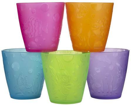 Multi Cups, 18+ Months, 5 Cups, 8 oz (236 ml) Each by Munchkin, 兒童健康,兒童食品,嬰兒餵養和清潔 HK 香港