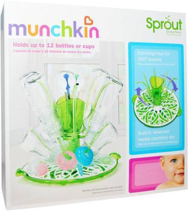 Munchkin, Sprout Drying Rack 兒童健康,兒童食品,嬰兒餵養和清潔