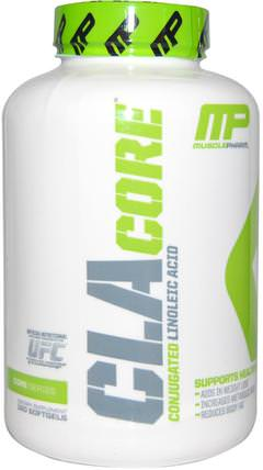 CLA Core, 180 Softgels by MusclePharm, 減肥,飲食,cla(共軛亞油酸),健康 HK 香港