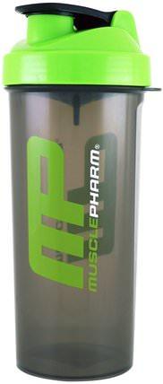 MusclePharm, Smartshake Lite Shaker Bottle, 33 oz (1000 ml) 家,廚具,杯碟碗