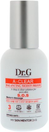 A-Clear, Balancing Moisturizer, 1.69 fl oz (50 ml) by Dr. G, 美容,面部護理,皮膚 HK 香港