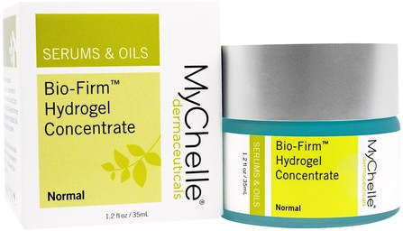 Bio-Firm Hydrogel Concentrate, Normal, 1.2 fl oz (35 ml) by MyChelle Dermaceuticals, 美容,面部護理,面霜,乳液 HK 香港