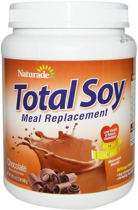 Total Soy, Meal Replacement, Chocolate, 19.1 oz (540 g) by Naturade, 健康 HK 香港
