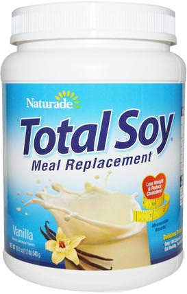 Total Soy, Meal Replacement, Vanilla, 19.1 oz (540 g) by Naturade, 健康 HK 香港