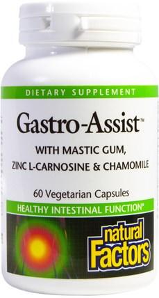Natural Factors, Gastro-Assist, 60 Veggie Caps 洗澡,美容,口腔牙齒護理,乳香樹膠,健康