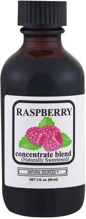 Raspberry Concentrate Blend, 2 fl oz (60 ml) by Natural Sources, 補品,水果提取物 HK 香港