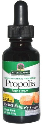 Propolis, Alcohol-Free, 2.000 mg, 1 fl oz (30 ml) by Natures Answer, 補充劑,蜂產品,蜂膠 HK 香港