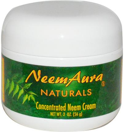 Concentrated Neem Cream, 2 oz (56 g) by Neemaura Naturals Inc, 健康 HK 香港