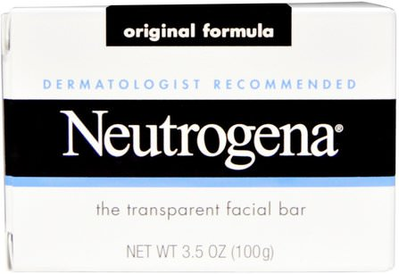 Facial Cleansing Bar, 3.5 oz (100 g) by Neutrogena, 美容,面部護理,皮膚 HK 香港