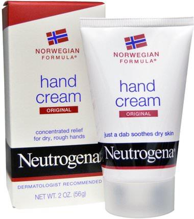 Hand Cream, Original, 2 oz (56 g) by Neutrogena, 洗澡,美容,護手霜 HK 香港
