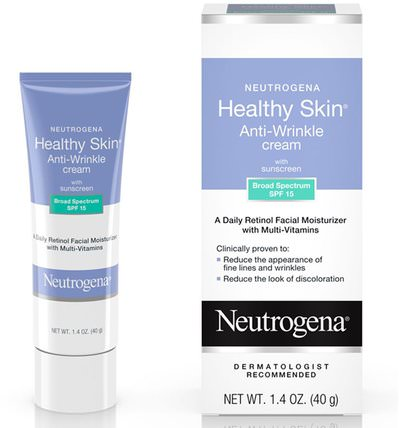 Healthy Skin, Anti-Wrinkle Cream, Night, 1.4 oz (40 g) by Neutrogena, 美容,面部護理 HK 香港