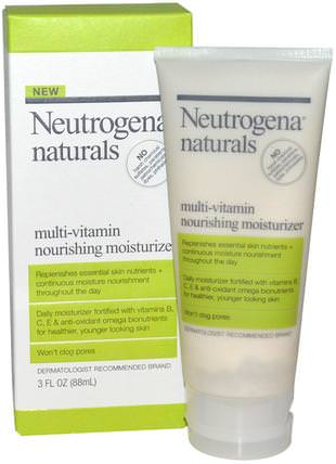 Multi-Vitamin Nourishing Moisturizer, 3 fl oz (88 ml) by Neutrogena, 美容,面部護理,面霜,乳液 HK 香港