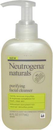 Purifying Facial Cleanser, 6 fl oz (177 ml) by Neutrogena, 健康,粉刺,皮膚型痘痘皮膚,面部護理 HK 香港
