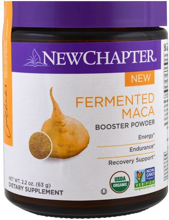 Fermented Maca Booster Powder, 2.2 oz (63 g) by New Chapter, 補品,超級食品 HK 香港