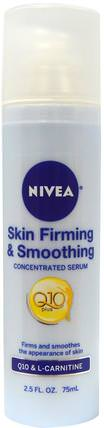 Skin Firming & Smoothing Concentrated Serum, 2.5 fl oz (75 ml) by Nivea, 美容,面部護理,面霜,乳液,coq10皮膚,健康,橘皮組織 HK 香港