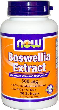 Boswellia Extract, 500 mg, 90 Softgels by Now Foods, 健康,炎症,乳香,關節炎 HK 香港