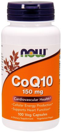 CoQ10, 150 mg, 100 Veg Capsules by Now Foods, 補充劑,輔酶q10 HK 香港