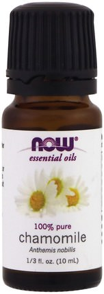 Essential Oils, Chamomile, 1/3 fl oz (10 ml) by Now Foods, 沐浴,美容,香薰精油,洋甘菊油 HK 香港