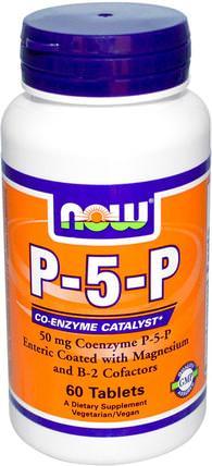Now Foods, P-5-P, 50 mg, 60 Tablets 維生素,維生素b,維生素b6  - 吡哆醇,p 5 p(吡哆醛5磷酸鹽)
