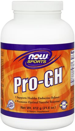Pro-GH, 21.6 oz (612 g) by Now Foods, 補充劑,合成代謝補品,gh HK 香港