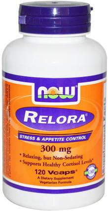 Relora, 300 mg, 120 Veg Capsules by Now Foods, 減肥,飲食,皮質醇,木蘭樹皮(phellodendron) HK 香港