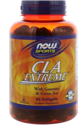 Sports, CLA Extreme, 90 Softgels by Now Foods, 減肥,飲食,cla(共軛亞油酸),cla HK 香港