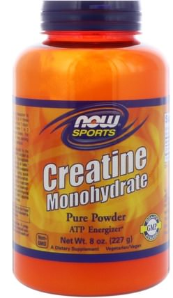 Sports, Creatine Monohydrate, Pure Powder, 8 oz (227 g) by Now Foods, 運動,肌酸粉 HK 香港