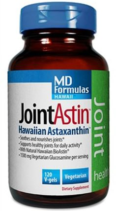JointAstin, 120 V-Gels by Nutrex Hawaii, 補充劑,抗氧化劑,蝦青素,bioastin HK 香港