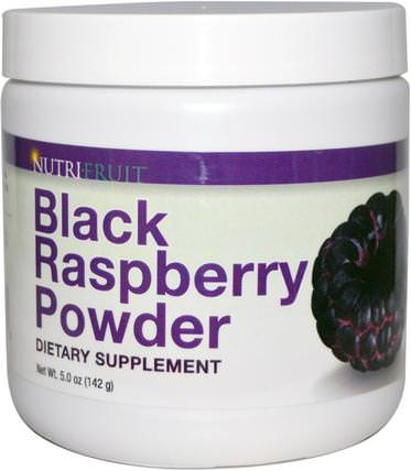 Nutri-Fruit, Black Raspberry Powder, 5.0 oz (142 g) 草藥,黑莓