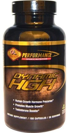150 Capsules by Olympian Labs Dynamic HGH, 運動,鍛煉,合成代謝補品 HK 香港