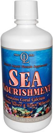 Olympian Labs Sea Nourishment, Cran-Raspberry, 32 fl oz (947 ml) 補品,礦物質