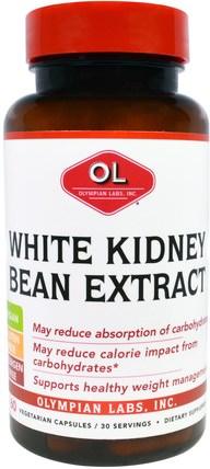 60 Veggie Caps by Olympian Labs White Kidney Bean Extract, 補充劑,白芸豆提取物2期 HK 香港