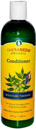 TheraNeem Organix, Conditioner, Moisture Therap, 12 fl oz (360 ml) by Organix South, 洗澡,美容,頭髮,頭皮,洗髮水,護髮素,護髮素 HK 香港