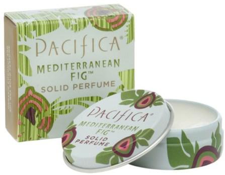 Pacifica, Mediterranean Fig, Solid Perfume.33 oz (10 g) 沐浴,美容,香水,香水噴霧