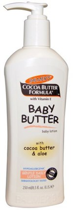 Cocoa Butter Formula, Baby Butter, Gentle Daily Lotion, 8.5 fl oz (250 ml) by Palmers, 洗澡,美容,潤膚露,嬰兒潤膚露 HK 香港