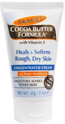 Cocoa Butter Formula, Concentrated Cream, 2.1 oz (60 g) by Palmers, 健康,皮膚,妊娠紋疤痕,身體黃油 HK 香港