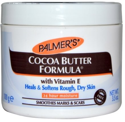 Cocoa Butter Formula with Vitamin E, 3.5 oz (100 g) by Palmers, 健康,皮膚,妊娠紋疤痕,身體黃油 HK 香港