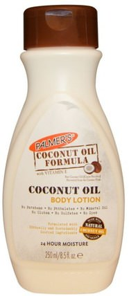 Coconut Oil Formula, Body Lotion, 8.5 fl oz (250 ml) by Palmers, 沐浴,美容,椰子油皮,潤膚露 HK 香港